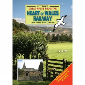 The Kittiwake Press Great Walks from the Heart of Wales Railway No Colour