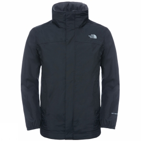 Image of The North Face Boy's Resolve Jacket TNF Black