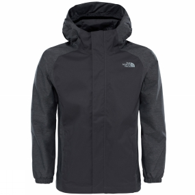 The North Face The North Face Boys Resolve Reflective Jacket Graphite Grey