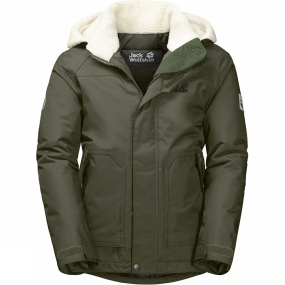 Jack Wolfskin Jack Wolfskin Boys Great Bear Jacket Woodland Green