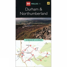 AA Publishing 50 Walks in Durham and Northumberland