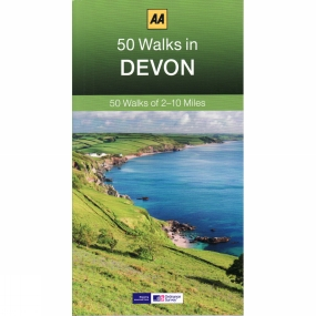 AA Publishing 50 Walks in Devon