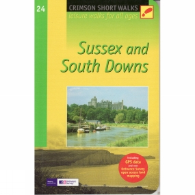 Jarrold Publishing Sussex and South Downs: Pathfinder Short Walks 24 No Colour
