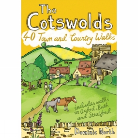 Pocket Mountains Ltd The Cotswolds: 40 Towns and Country Walks