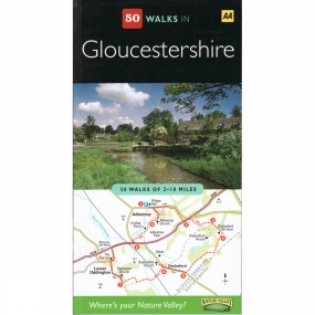 AA Publishing 50 Walks in Gloucestershire No Colour
