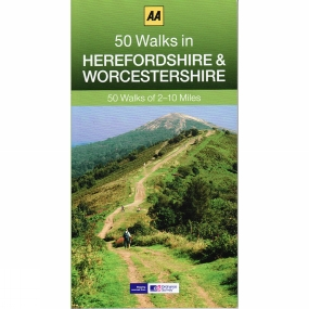 AA Publishing 50 Walks in Worcestershire and Herefordshire