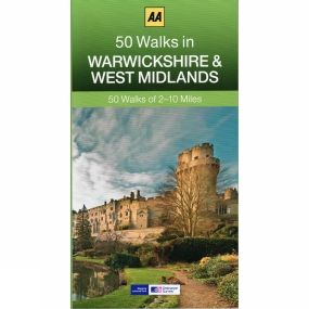AA __ AA 50 WALKS IN WEST YORKSHIRE __ 2017 REPRINT __ SHELF WEAR __ FREEPOST UK