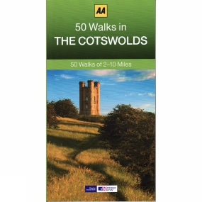 AA Publishing 50 Walks in the Cotswolds