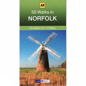 AA Publishing 50 Walks in Norfolk