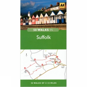 AA Publishing 50 Walks in Suffolk