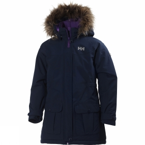 Helly Hansen Kids Stella Parka Evening Blue