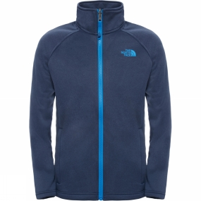 The North Face The North Face Kids Canyonlands Full Zip Jacket Cosmic Blue Heather