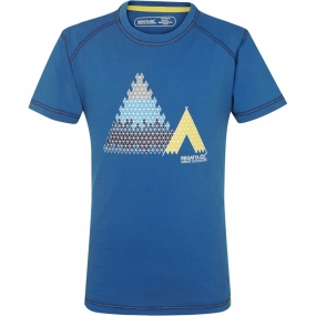 Regatta Kids Motion Tee Methyl Blue