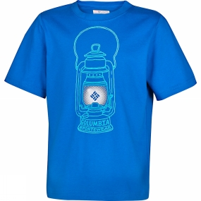 Columbia Boys Camp Light Graphic Tee Super Blue