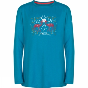 Regatta Kids Wilder Long Sleeve T-Shirt