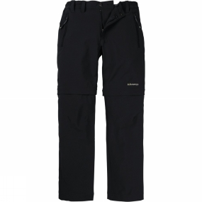 Ayacucho Ayacucho Kids Stretch Zip Off Pants Anthracite