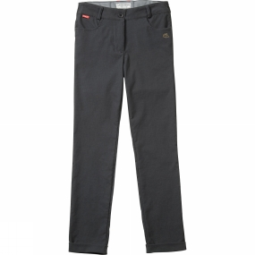 Craghoppers Craghoppers Kids NosiLife Callie Trousers Charcoal