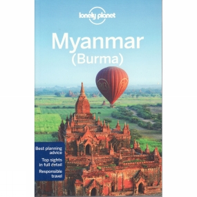 Lonely Planet Lonely Planet Myanmar (Burma) No Colour