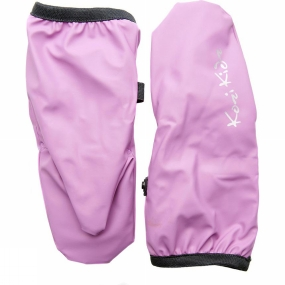 Kozi Kidz Kids Fleece Lined Rain Mitt Pale Pink
