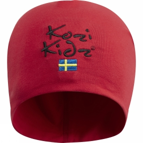 Kozi Kidz Kids Beanie Hat Red