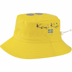 Kozi Kidz Kids Regnhatt Rain Hat Yellow