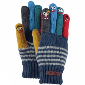 Barts Kids Puppet Glove Old Blue