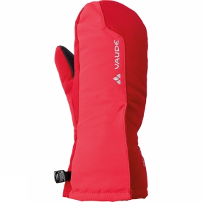 Vaude Kids Small Glove II Indian Red