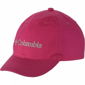 Columbia Youths Adjustable Ball Cap Haute Pink