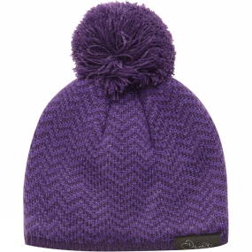 Dare 2 b Girls Ingenuity Beanie Royal Purple / Striking Purple