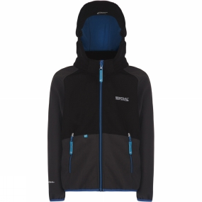 Regatta Youths Arowana Jacket Age 14+ Ash/Black (imperial Blue)