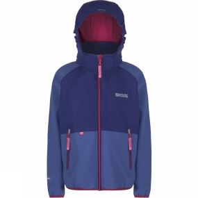 Regatta Youths Arowana Jacket Age 14+ Blueberry Pie/Clematis Blue (Jem)