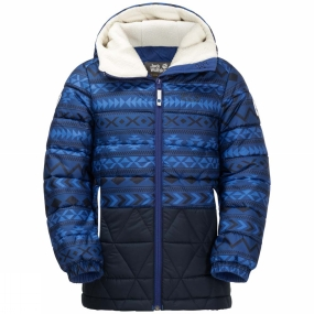 Jack Wolfskin Jack Wolfskin Kids Inuit Bear Jacket Royal Blue Allover