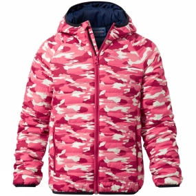 Craghoppers Craghoppers Boys Discovery Adventures ClimaPlus Jacket Electric Pink Camo