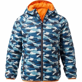 Craghoppers Craghoppers Boys Discovery Adventures ClimaPlus Jacket Deep Blue Camo