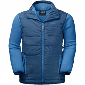 Jack Wolfskin Jack Wolfskin Kids Glen Dale 3-in-1 Jacket Ages 14+ Ocean Wave