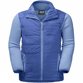 Jack Wolfskin Jack Wolfskin Kids Glen Dale 3-in-1 Jacket Ages 14+ Baja Blue