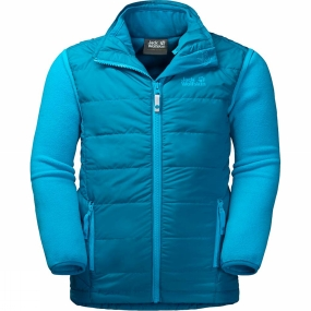 Jack Wolfskin Jack Wolfskin Kids Glen Dale 3-in-1 Jacket Ages 14+ Dark Turquoise
