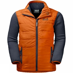 Jack Wolfskin Jack Wolfskin Kids Glen Dale 3-in-1 Jacket Ages 14+ Desert Orange