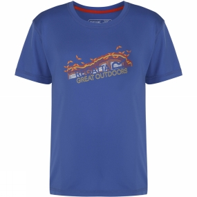 Regatta Youths Alvarado Tee Age 14+ Blueberry Pie