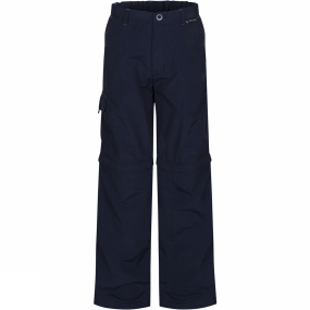 Regatta Kids Sorcer Zip-Off Trousers Age 14+ Navy