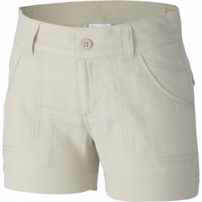 Columbia Girls Silver Ridge III Shorts Age 14+ Fossil