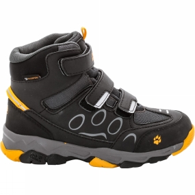 Jack Wolfskin Kids Mtn Attack 2 Texapore Mid VC Boot Burly Yellow