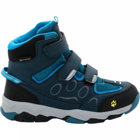Jack Wolfskin Kids Mtn Attack 2 Texapore Mid VC Boot Glacier Blue