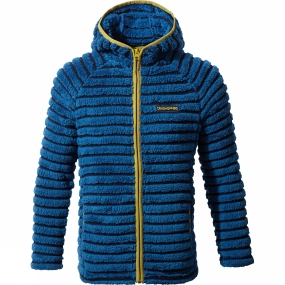 Craghoppers Craghoppers Kids Farley Hooded Jacket Night Blue Combo