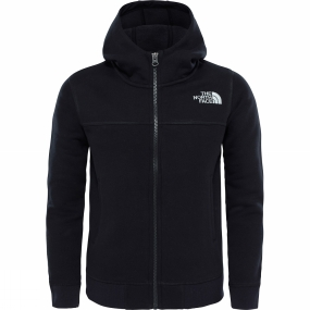 The North Face The North Face Youths Full Zip Drew Peak Hoodie TNF Black