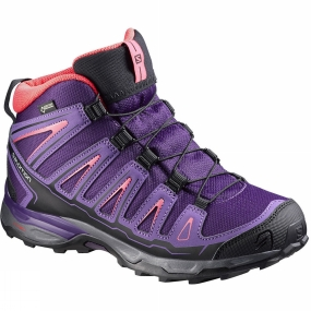 Salomon Salomon Kids X-Ultra Mid GTX Shoe Cosmic Purple/Rain Purple