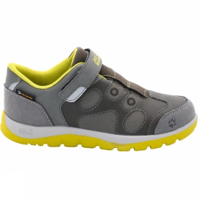 Jack Wolfskin Kids Providence Texapore Low VC Shoe Wild Lime