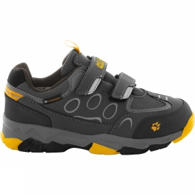 Jack Wolfskin Kids Mtn Attack 2 Texapore Low VC Shoe Burly Yellow