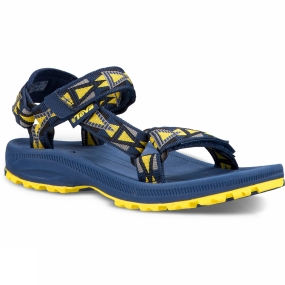 Teva Teva Kids Hurricane 2 Sandal Mosaic Navy/Yellow