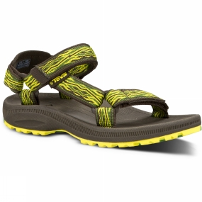 Teva Teva Kids Hurricane 2 Sandal Mad Waves Green